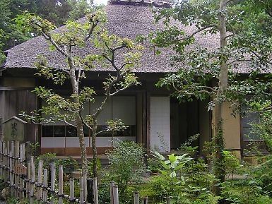 松尾芭蕉 落柿舎 京都嵐山・嵯峨